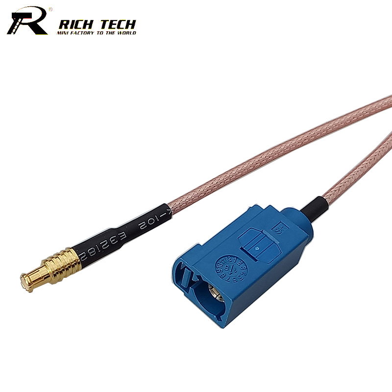 Fakra cable rf coaxial MCX Male Plug Straight Connector Switch FAKRA Connector RG316 Pigtail 15CM 6 Adapter Cable factory sales rf coaxial cable f to mcx connector f female to mcx male right angle plug rg316 pigtail cable 15cm free shipp