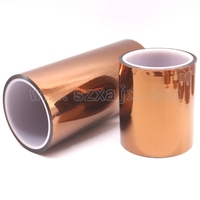 100mm X 33m 100ft Kapton Tape High Temperature Heat Resistant Polyimide For Reprap 3D Printer Heated