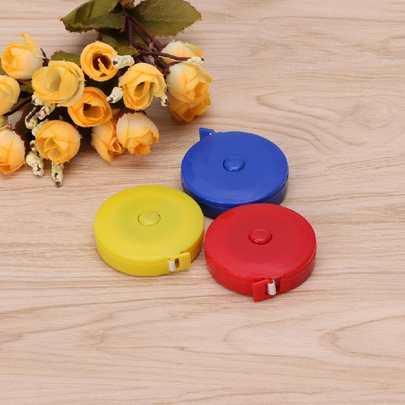 Portable 1.5m Retractable Tape Measure DIY Needlework Tools Sewing Cloth Tailor Dieting Sewing Ruler Tool
