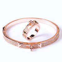 Jewelry Classic Bracelet with Zircon Three Colors New Simple Star Bracelet Bangles for Women Bangles for Women Cuff Bracelets