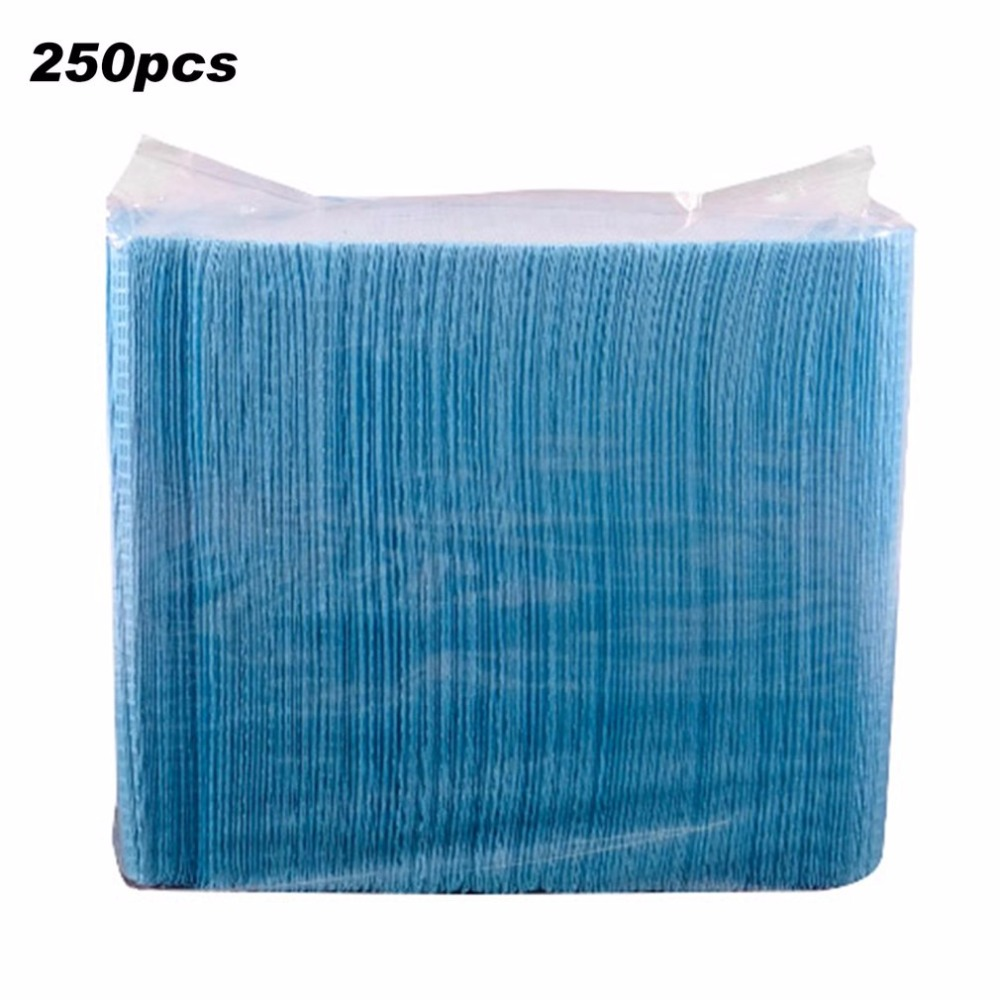 250pcs Disposable Tattoo Clean Pad Cloth Waterproof Medical Hygiene Personal Paper Tablecloths Mat Sheets Tattoo Accessories New