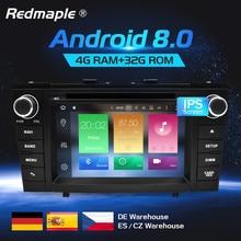 Восьмиядерный Android 8,0 Автомагнитола DVD gps навигации мультимедийный плеер для Toyota Avensis T27 2009-2015 Авто аудио стерео, головное устройство