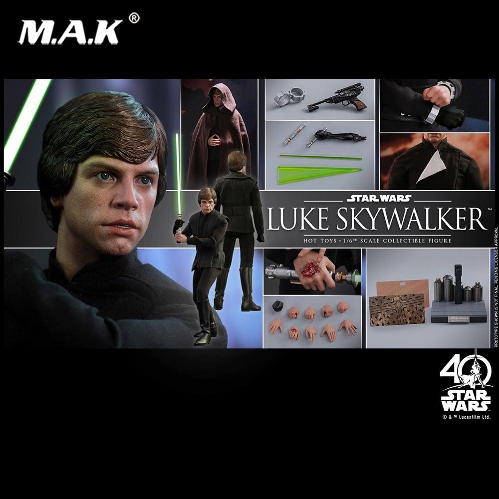 цены на Collectible Hot Toys 1/6 Luke Skywalker Star Wars: Return of the Jedi Black Ver. full set action Figure Toy в интернет-магазинах