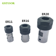 ER20 Collet Chuck Extension Rod Spindle Lathe Tools Holder Inner 8MM 10MM 12MM 14MM 16MM For CNC Milling Boring Grinding