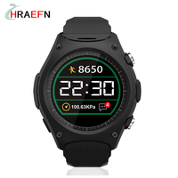 Smart Watch Q8 Waterproof IP67 Sport Wristwatch MT2502 With Bluetooth G-sensor Heart Rate Monitor Compass For IOS Android phone