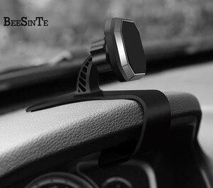 Image 1 - Telefon auto halter super magnetische telefon stehen 360 Rotation Air halterung in Auto für iPhone 5 7 8 für samsung Universal stand