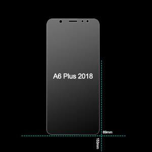 Image 3 - Tempered Glass for Samsung Galaxy A6 Plus 2018 Screen Protector 9H 2.5D Phone Protective Glass for Samsung Galaxy A6 2018 Glass