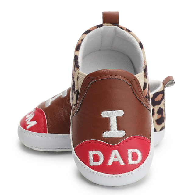 6dec22648f1e Newborn Baby Girl Shoes Pre-Walker Crib Shoes Soft Sole Leopard Shoes Boy First  Walker Walking Shoes 0-18 Months