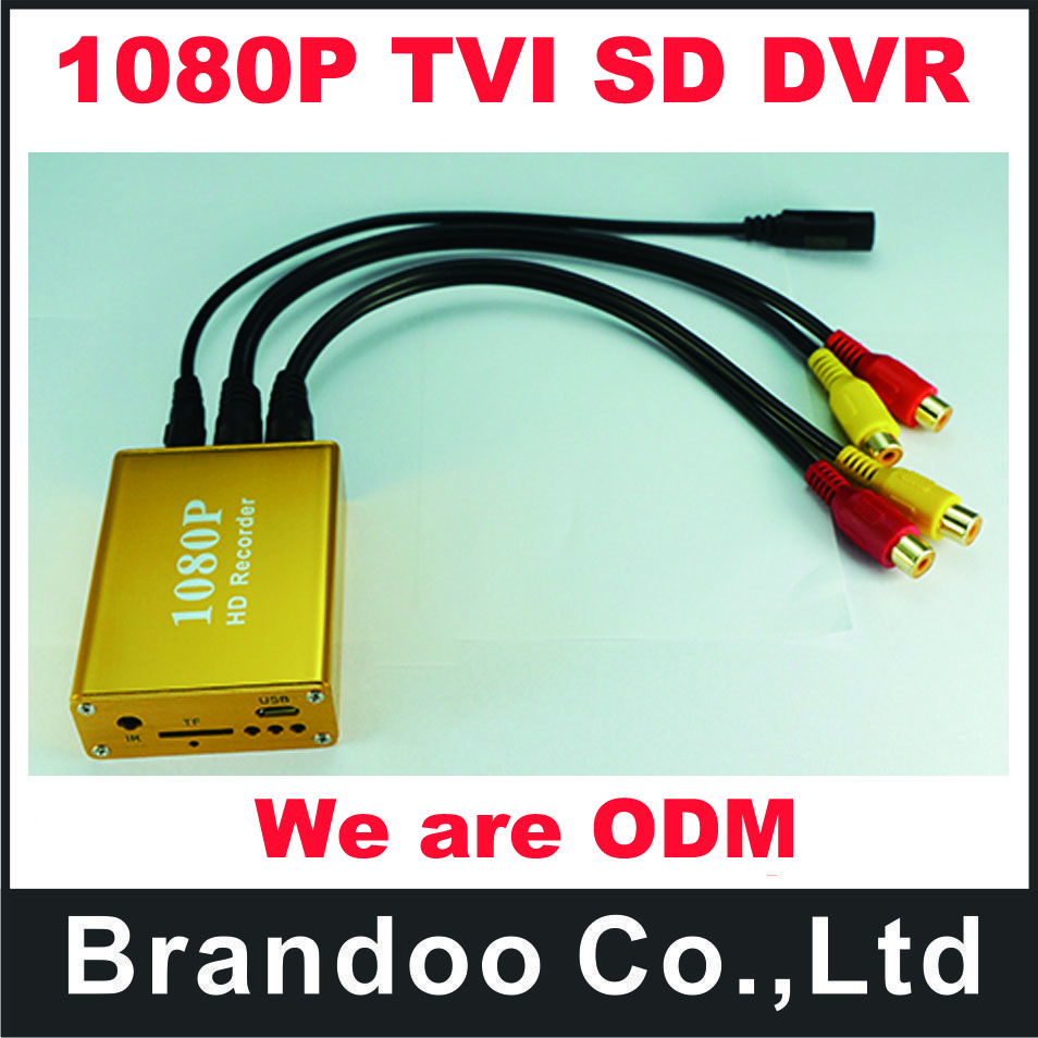 1080P TVI SD DVR,for cctv ,home used, Max. 128GB micro sd card used. 9 different language menu