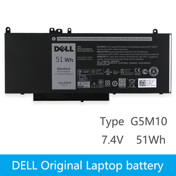 Dell Original New Replacement Laptop Battery For DELL Latitude E5450 E5470 E5550 E5570  8V5GX R9XM9 WYJC2 1KY05 7.4V 51wh G5M10