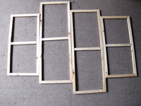 Perfect 4 pieces wooden stretched bar only for canvas painting frame