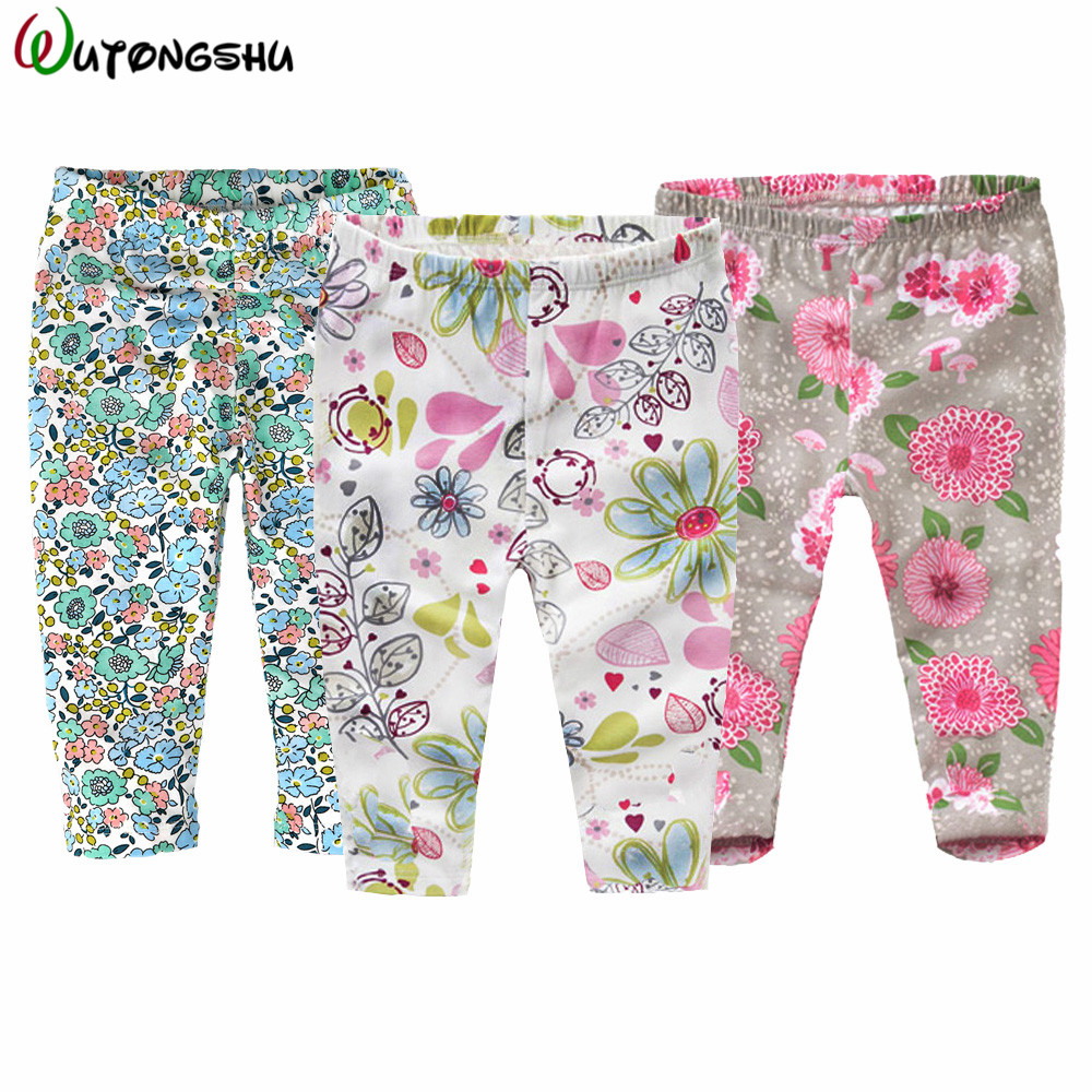 3 PCS Baby Boy Girl Pants Autumn Spring Cotton Infant Legging Newborn Boy Pants Baby Girl Clothing 0-4Y Baby Skinny Trousers