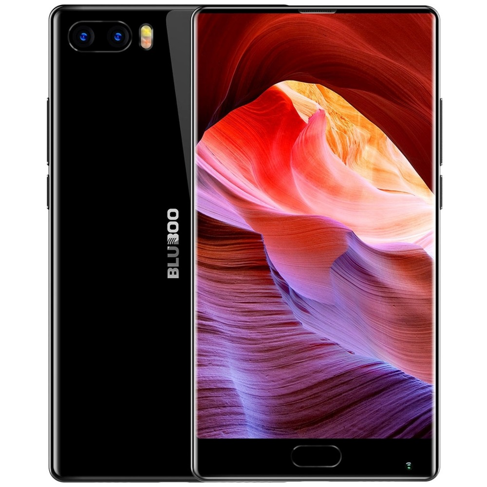 Original Bluboo S1 Lünette-weniger Smartphone 5,5 ''FHD Helio P25 Octa Core 4 GB RAM 64 GB ROM Android 7.0 Dual Rückfahrkamera 3500 mAh