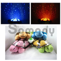 Tortoise Toy Led Lights 4 Colors 4 Songs For Children Sleeping Time Light Projector USB Cable/AAA Battery For Bedside Lighting