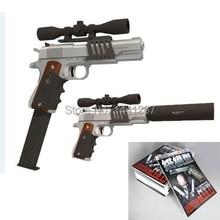 3D modèle de papier pistolet / pistolet M1911 coupe – papier jouet Hardcover Magazines édition 1:1 bricolage Puzzle de jouets faits à la main papier des armes à feu
