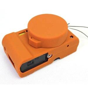 Image 3 - Nizza Schutz Körper Abdeckung Fall für Panasonic Lumix LX10 Weiche Silikon Kamera Tasche für Panasonic Lumix L X10 mit Gummi Objektiv kappe