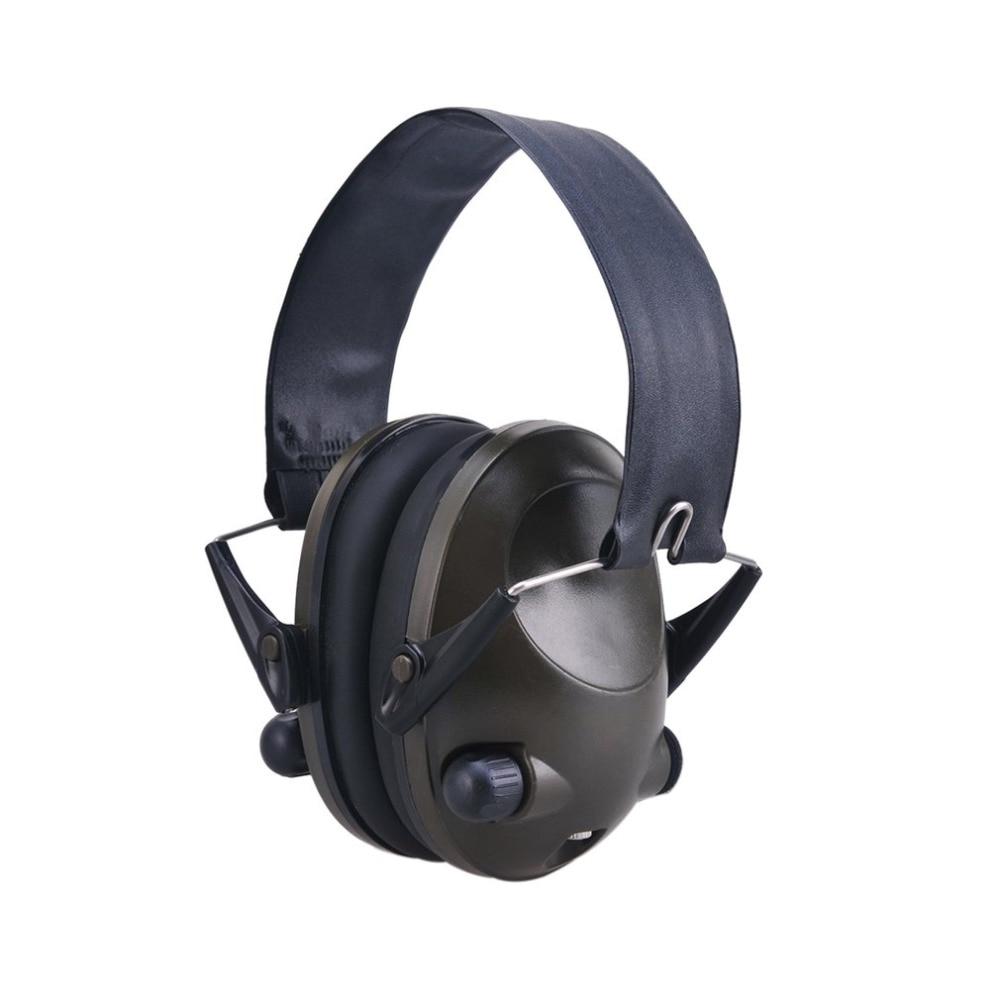 Anti-noise Military Tactical Earmuff Sport Hunting Shooting Ear Defenders Hearing Protecting Earmuffs With 3.5mm Audio Jack 3m h6p3e cap mount earmuffs hearing conservation h6p3e ultra light with liquid foam filled earmuff cushions e111
