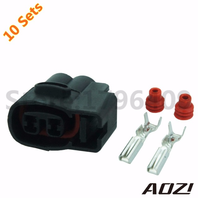 10 Sets 2pin 2 0mm For Kia Ignition Coil Ignition Coil Connector CVVT Fuel Injector Connector_640x640 10 sets 2pin 2 0mm for kia ignition coil ignition coil connector 1986 Toyota SR5 Fuel Injector Wire Harness at crackthecode.co
