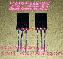 100% Новый оригинальный C3807 2SC3807 транзистор силы TO-126 транзистор