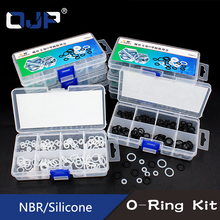 Screw M3 M4 M5 M6 M7 M8 M9 M10 White Silicon NBR O rings Rubber Seal Ring Silicone Washer Gasket Assortment Set