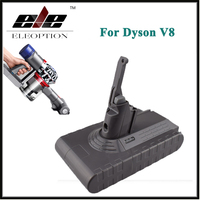 Eleoption High Quality 21 6V 2800mAh 60 48Wh Li Ion Rechargeable Battery Pack For Dyson V8
