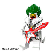 Superheroes Music Clow PG420 Single Sale Super Heroes Infinity War Avengers Building Blocks Toys For Children s(China)