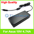 19V 4.74A 90W laptop charger ac power adapter for Asus X64J X64V X65 X66 X66I X70 X70A X70E X70F X70I X70K X70L X70S X70Z X71