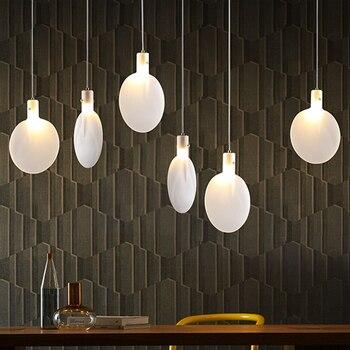 Moderno colgante LED interior luces iluminación comedor ...
