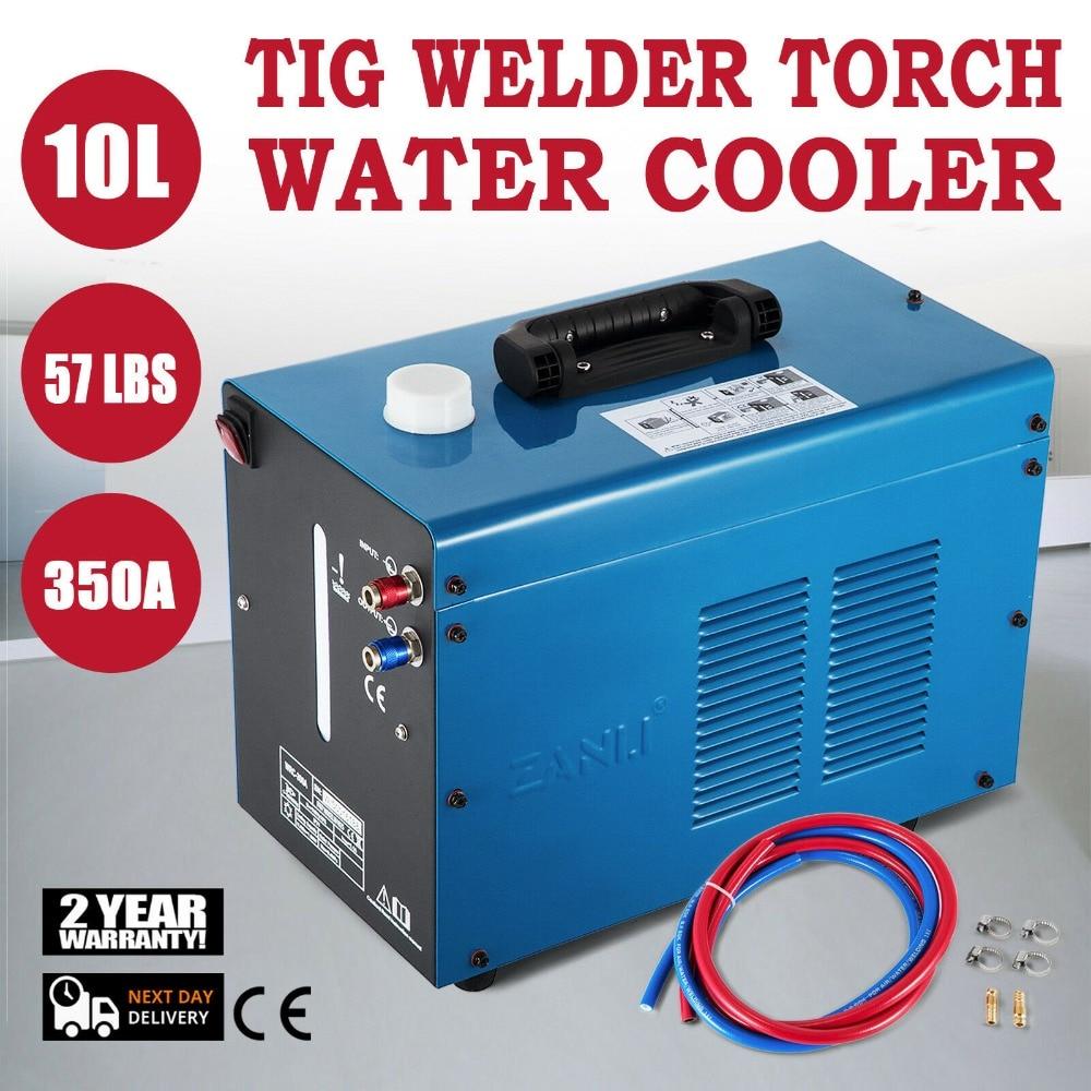 Tig Welder 350A Water Welder Torch Powerful Cooler Welding Machine 10 Liter Capacity