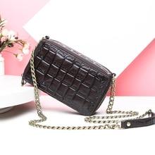 Contato de couro genuíno bolsas femininas bolsas de ombro de luxo para senhoras sling saco com corrente pequena bolsa feminina moda