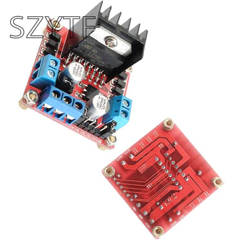 L298N Dual H-Bridge Stepper Motor Driver Board