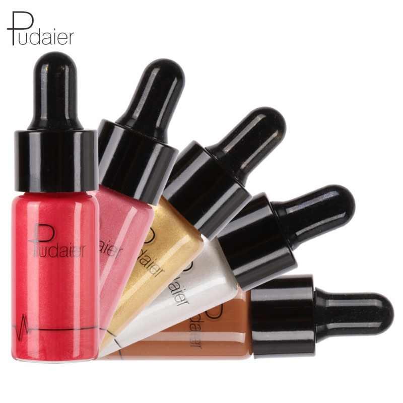 Hot sprzedam kobiety Sexy uroda Shimmer ciecz oświetlacz wyróżnienia jednorożec oleju korektor makijaż kosmetyki 12 kolory