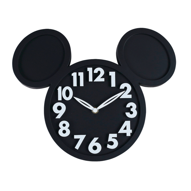 Mickey Mouse Acrylic Electronic Large decorative Wall Clock Modern Design Kitchen Watch silent 3D Digital Wall Clock home decor