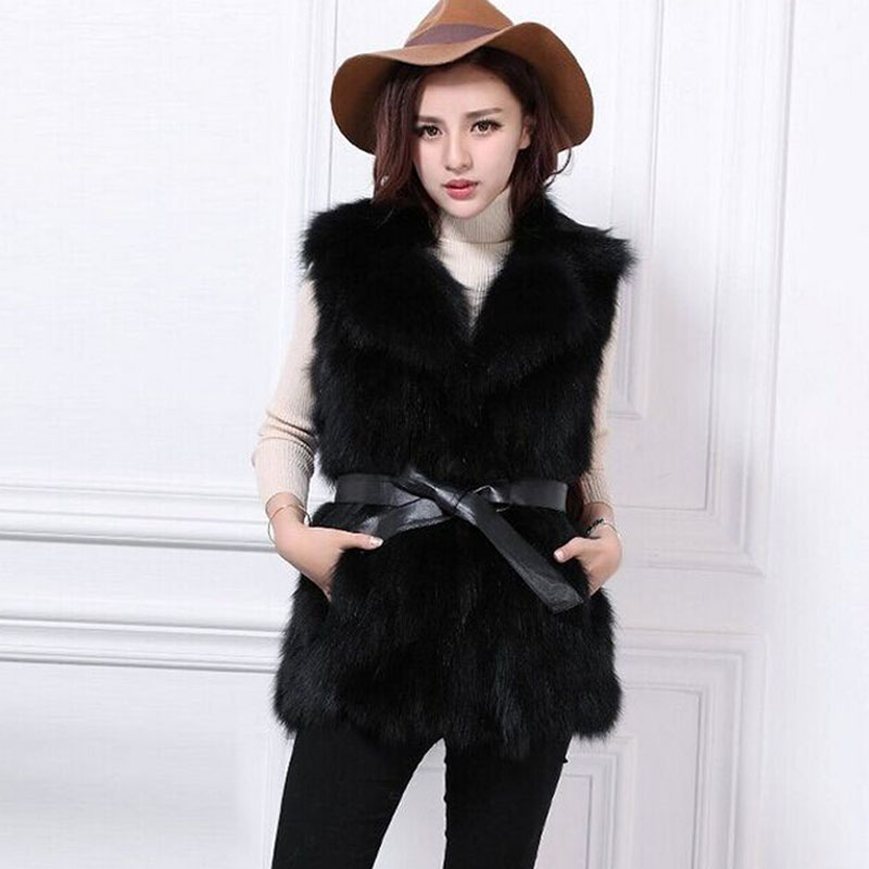 aliexpress : buy autumn and winter faux fur vest mink fur