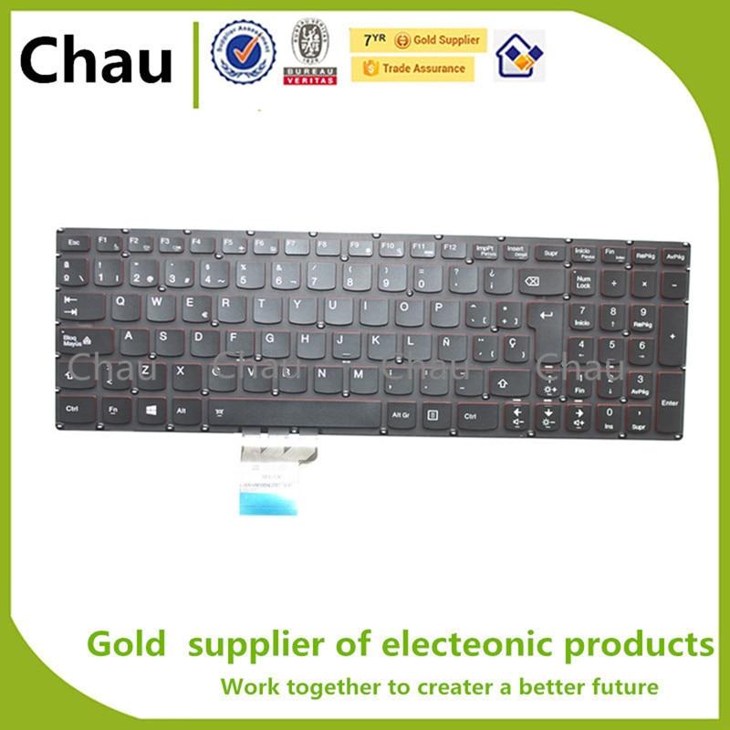 New SP keyboard For Lenovo Y50 Y50-70 Y50-70A Y50-70AM-IFI Y50-70AS-ISE Y70 Y70-70T Y70P-70T SP Laptop Keyboard Backlit Spanish все цены