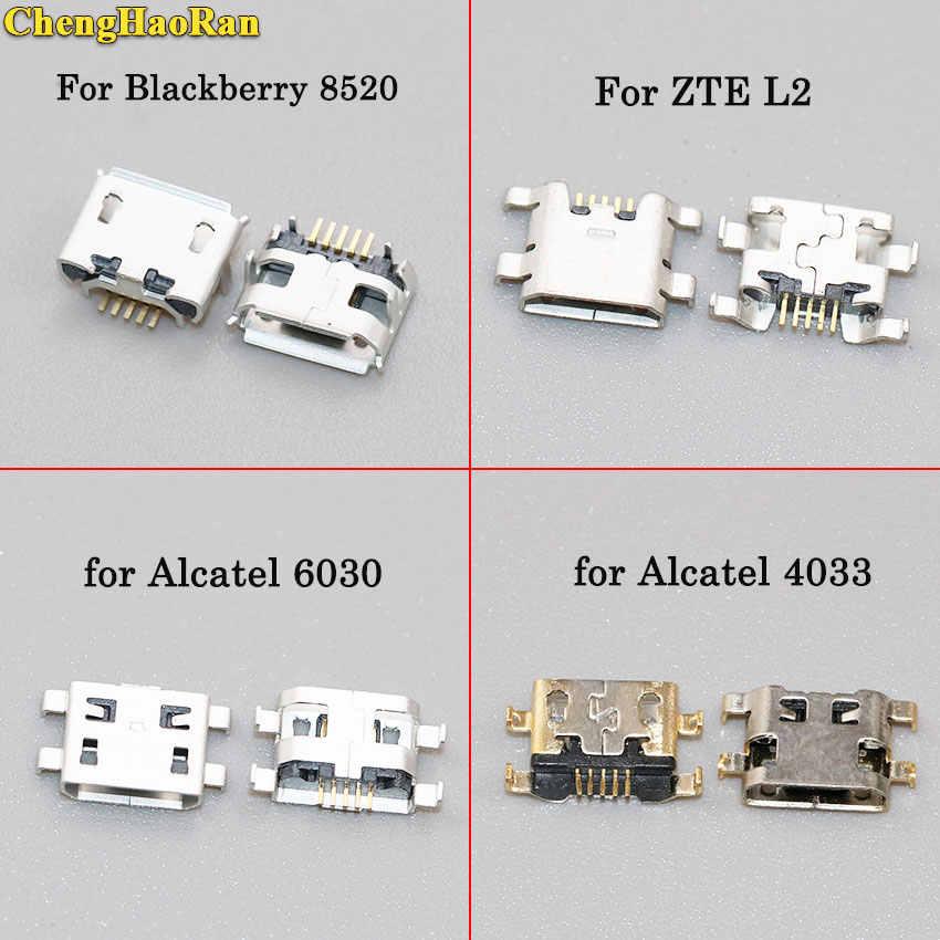 ChengHaoRan micro prise usb port de charge connecteur prise pour Blackberry pour ZTE L2 pour Alcatel pour Samsung pour LG pour MOTO G2
