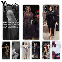Yinuoda Nicki Minaj Original Phone case cover  for Apple iPhone 8 7 6 6S Plus X XS max 5 5S SE XR Cover