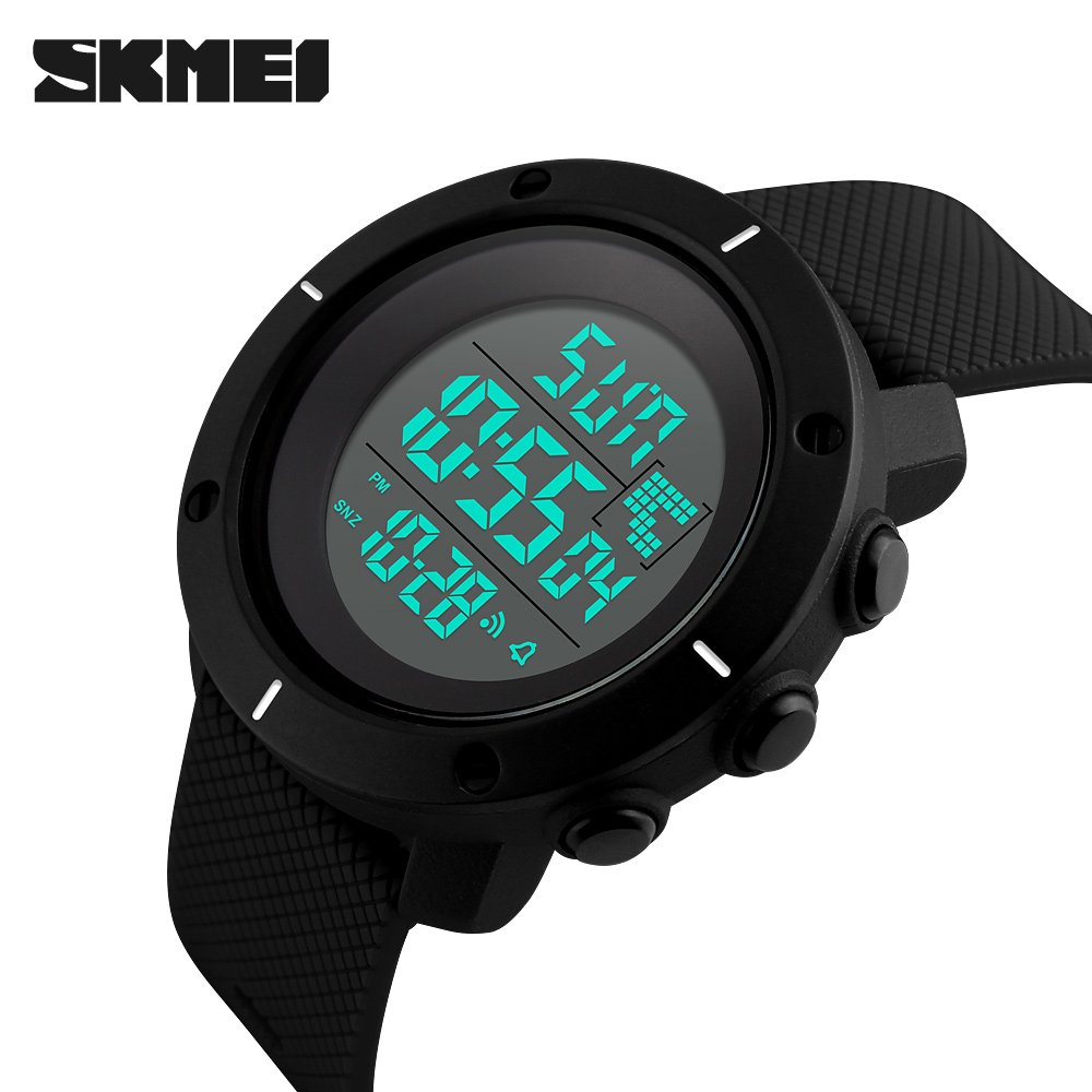 2018 New SKMEI Brand Sport Digital Watch Men Fashion Waterproof Multifunction Military LED Digital Watches Outdoor Wristwatch