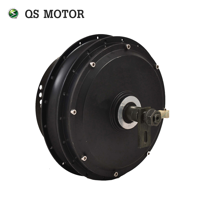 QS Motor E-bike electric motorcycle Spoke motor <font><b>3000W</b></font> 205 (50H) V3 48/60/72V 75-100KPH in wheel Hub Motor kits with SVMC72150 image