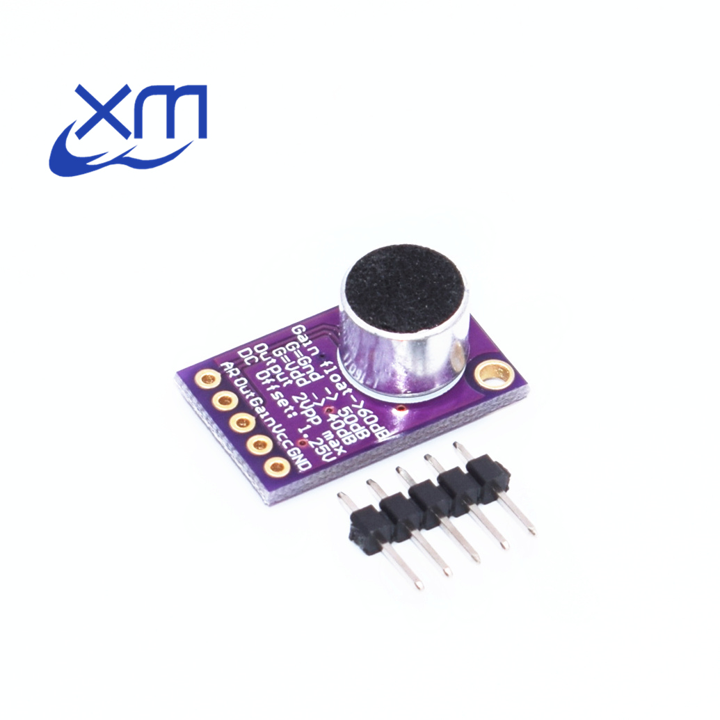 Hot Sale Electret Microphone Amplifier Stable Max9814 Module Auto Mic Preamp Circuit Gain Control