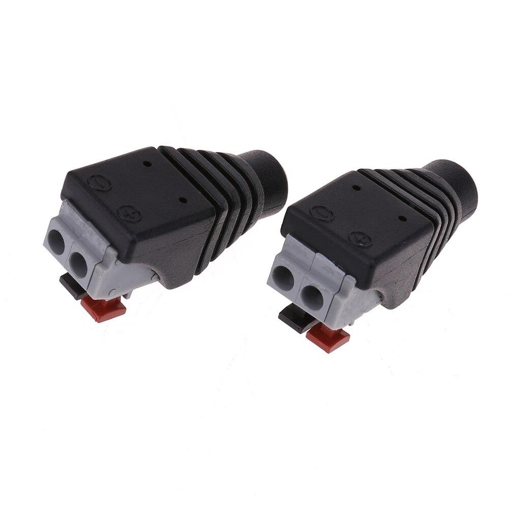 DC Strom Weiblich 5,5X2,1mm Adapter Stecker Kabel Gedrückt ...