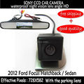 4.3 Inch Car Rear View car mirror monitor Parking Monitor with Car sony ccd Reverse Camera  for2012 Ford Focus Hatchback / Sedan