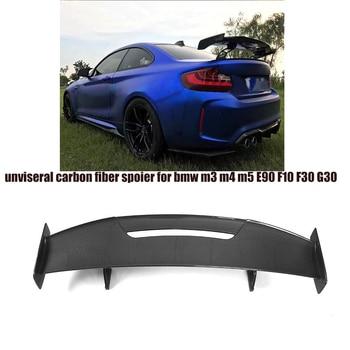 Voor F80 F82 G30 Unversal Koolstofvezel Auto Kofferbak Boot Lip Spoiler voor BMW M2 M3 M4 M5 m6 Factory Outlet