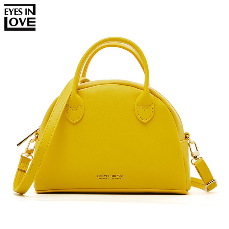 Brand Luxury Half Round Handbag Women Fashion Messenger Crossbody Bags Female Shoulder Bag Leather Ladies Purse Tote Shell Bolsa