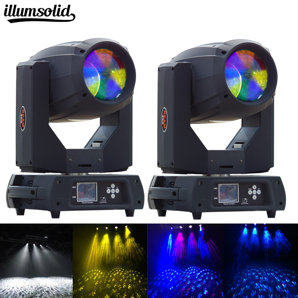 2pcs/lot Lamp Beam Moving Head Light 350W 17r Perfect For Mobile DJ, Party, Nightclub