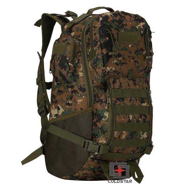 d60b65d3cf42 Woodland digital Tactical T A D military assault backpack Molle Airsoft  Hunting Camping Survival Outdoor Sports climbing bag-in Climbing Bags from  Sports ...