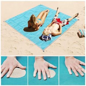 Image 5 - Beach Mat Magic Outdoor Travel Magic Sand Free Beach Mat Picnic Camping Waterproof Mattress Blanket Foldable Sandless Beachtowel