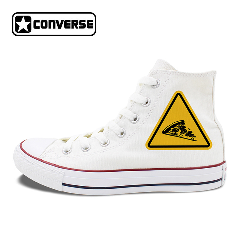 Original Design Chuck Sneakers Hamburger Pizza Traffic Warning Signs Canvas Shoes Mens Womens Converse High Top sg xpci1fc em4 375 3398 01 4gb pcix hba 1 year warranty