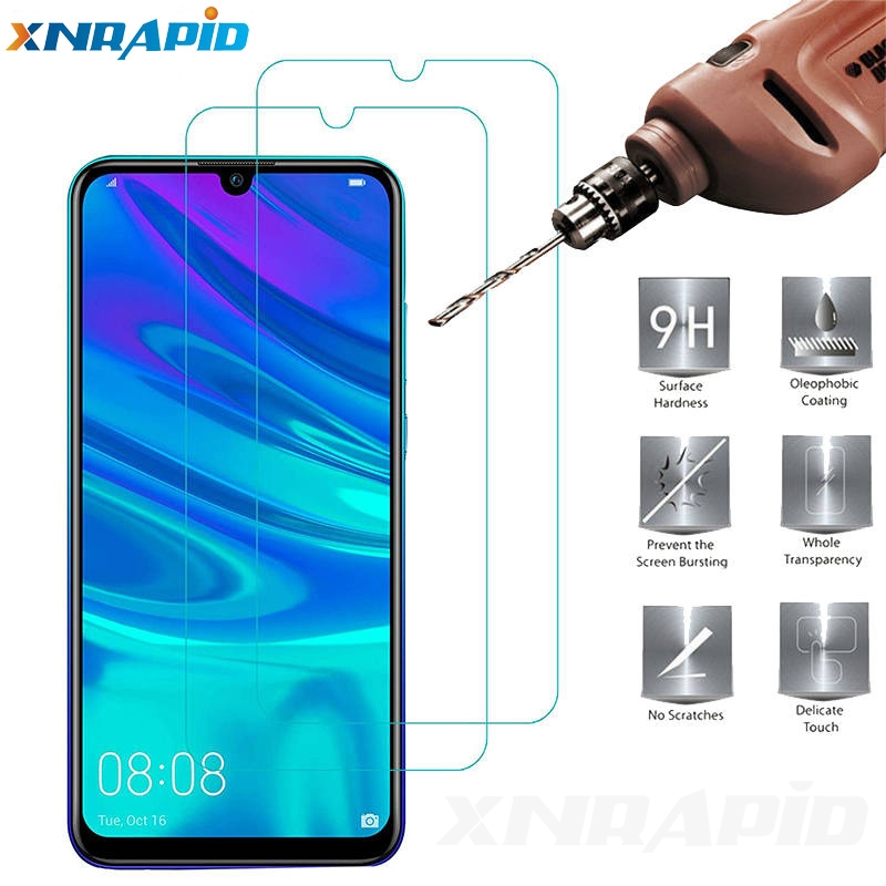 2pcs Screen protector for  huawei PSmart+ 2019 toughened glass PSmart Plus protective
