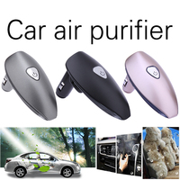 Car Interior Odor Removal Anion Fragrance Diffuser With 2 USB Charging Port Auto Car Fragrance Spray